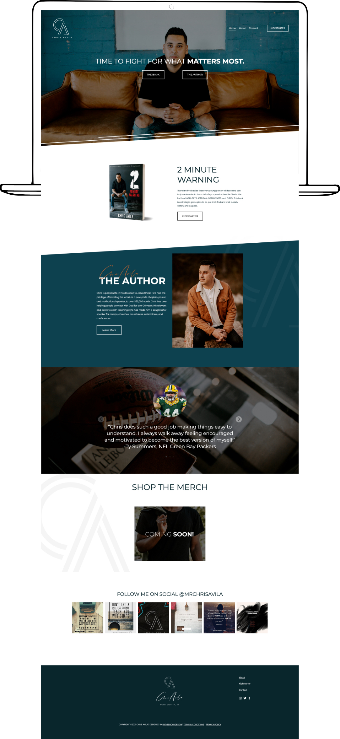 Squarespace website design