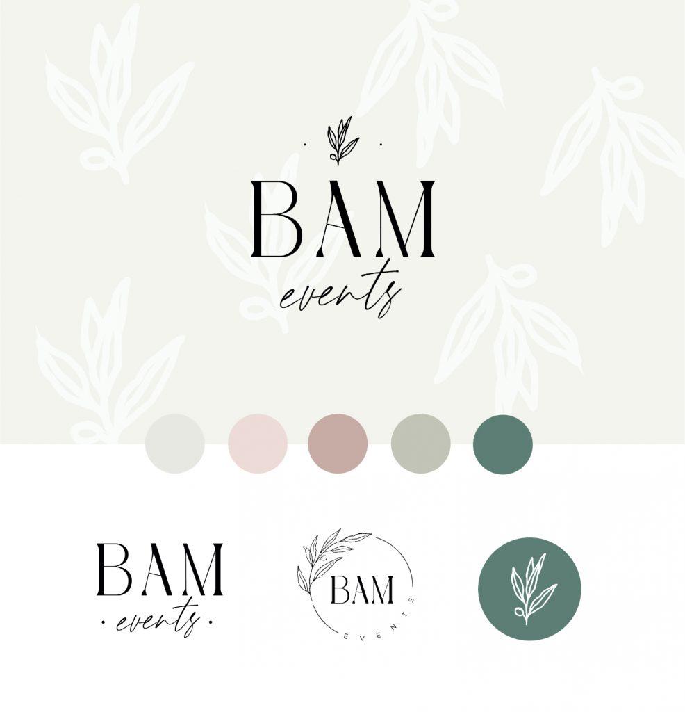 Logo Brand sheet for wedding planner business